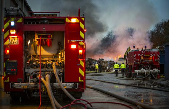 Nuit et jour, les sapeurs-pompiers veillent sur les Eurois