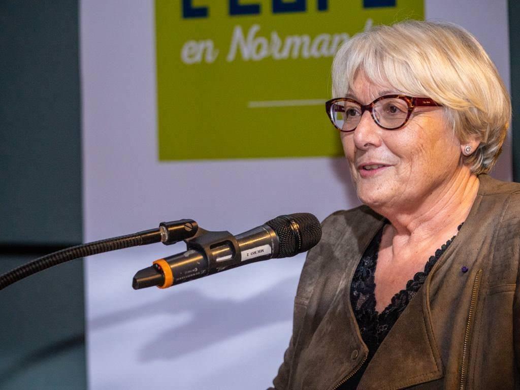 Martine Saint-Laurent, vice-présidente au Département de l'Eure
