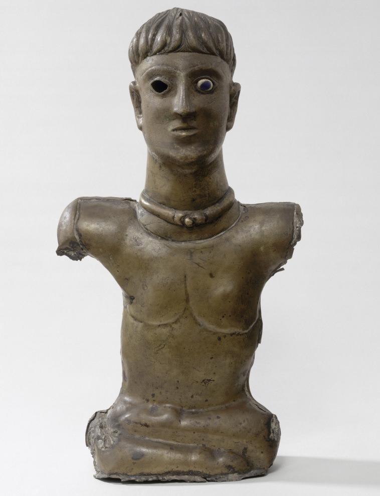 Buste d'homme en bronze