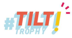 Logo en orange et jaune de TILT Trophy