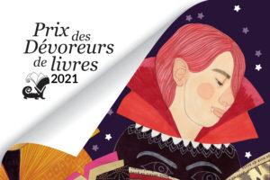 Visuel du Prix des Dévoreurs de livres 2021