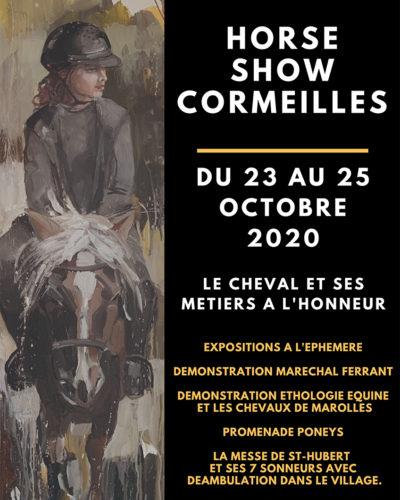 Noir et Cyan Moderne Expo sciences Événement Affiche