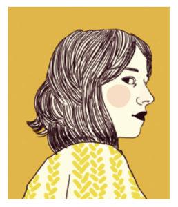 Portrait dessinné d'Ilya Green