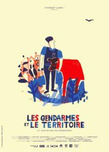 affiche du film les gendarmes et le territoire