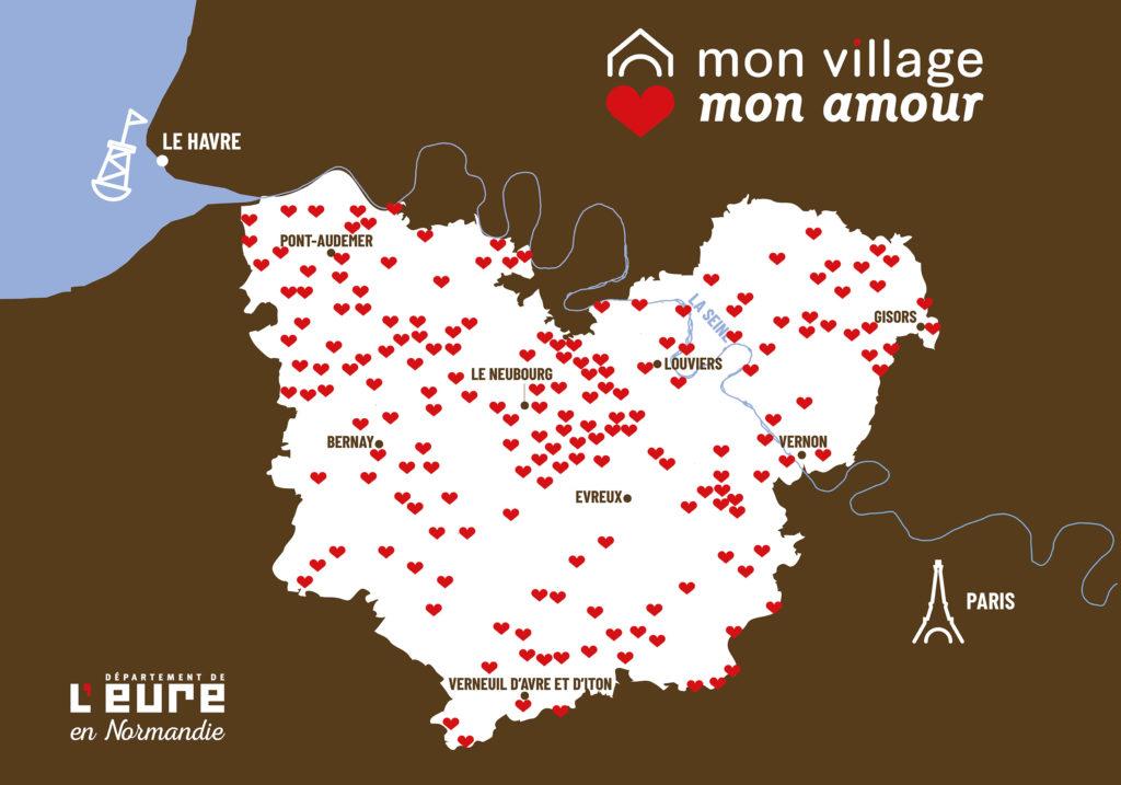 carte des 250 projets aidés