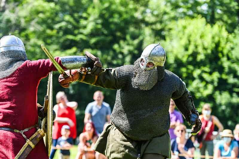 medievales d'harcourt dans l'eure