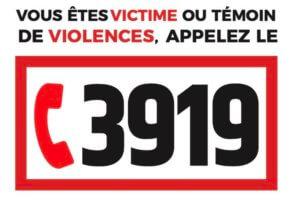 numéro 3919 si victime de violences