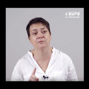 Portrait de Bénédicte Christy, assistante sociale au Conseil départemental