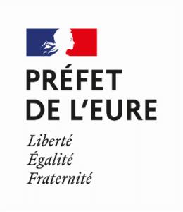 logo de l'Etat, préfet de l'Eure
